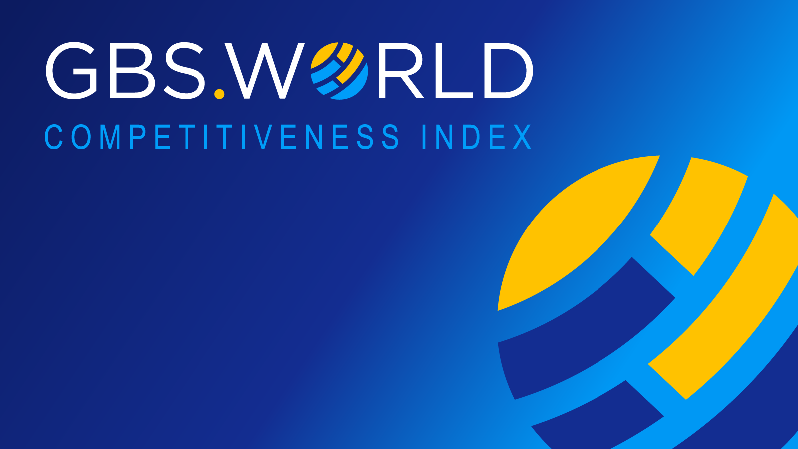 GBS World Competitiveness Index provides first global rankings